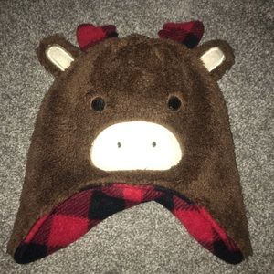 2 for $10!! Moose hat & mitts set